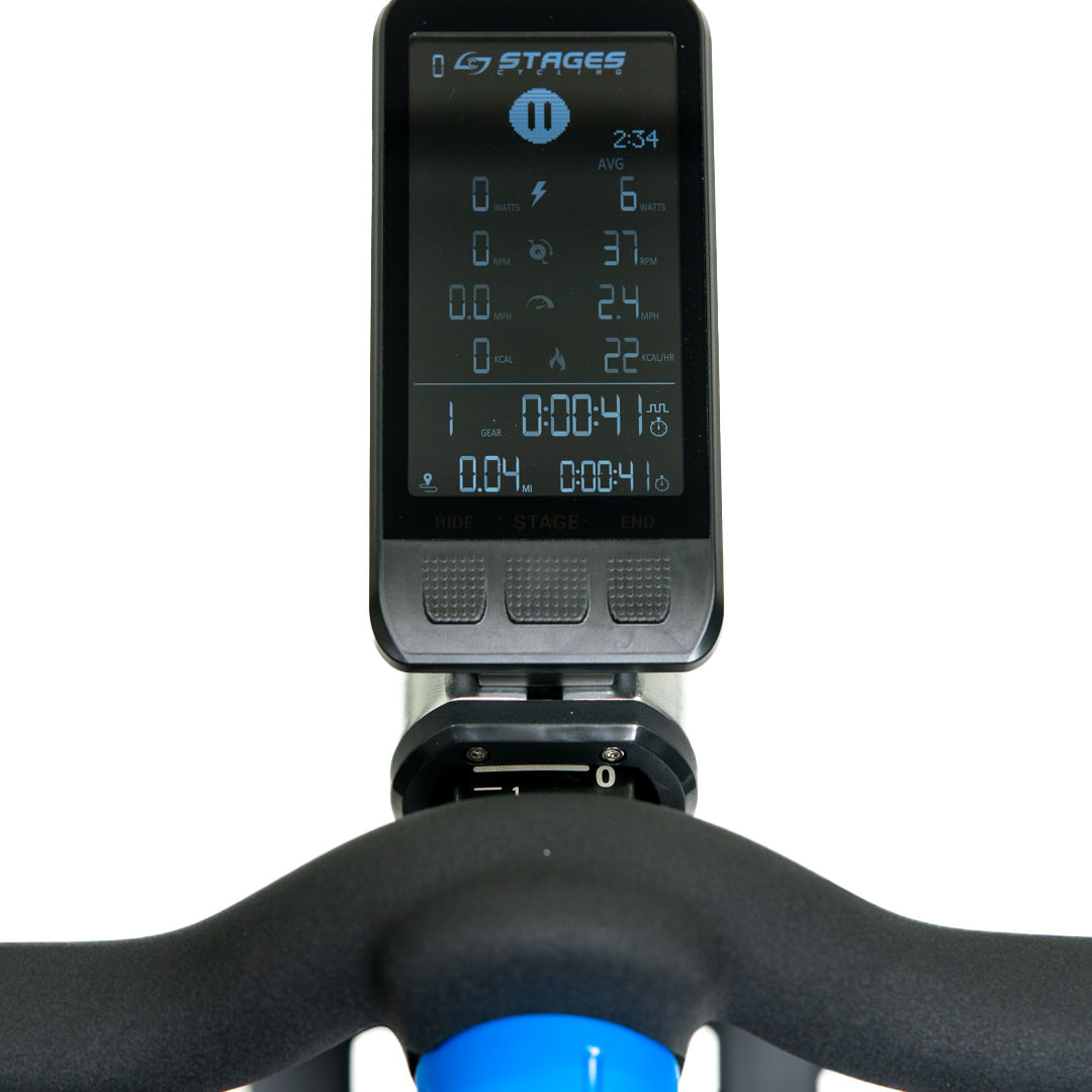 Stages SC3 Indoor Cycle Console Display